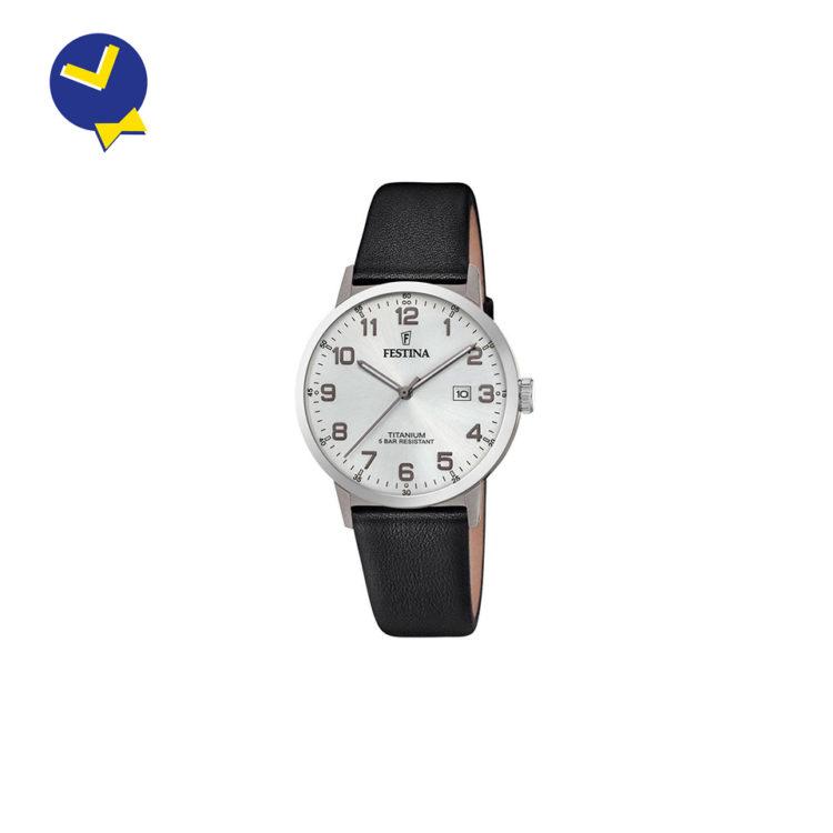 Mister Watch | Orologeria Gioielleria a Biella e Borgomanero | Orologio Uomo Festina Titanium F20471/1