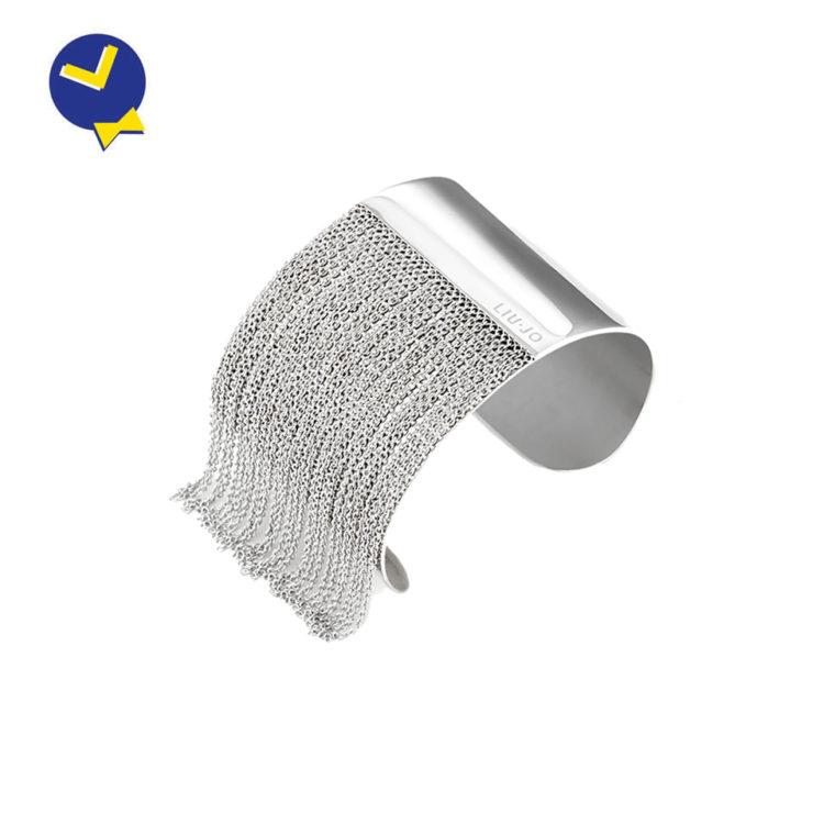 mister-watch-orologeria-biella-borgomanero-bracciale-rigido-donna-liu-jo-steel-collection-lj1222