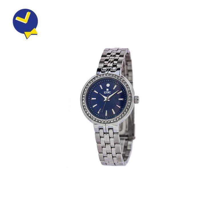 mister-watch-orologeria-gioielleria-biella-borgomanero-orologio-donna-logic-elegance-acciaio-5415-quadrante-blu-conbrillanti