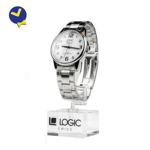 mister-watch-orologeria-biella-borgomanero-orologio-logic-acciaio-uomo-white