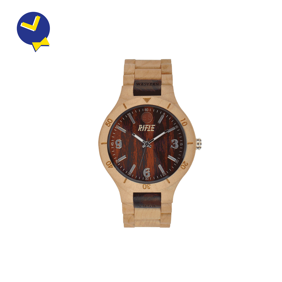 "Orologio Rifle Watches - On The Road ""Light Wood"""