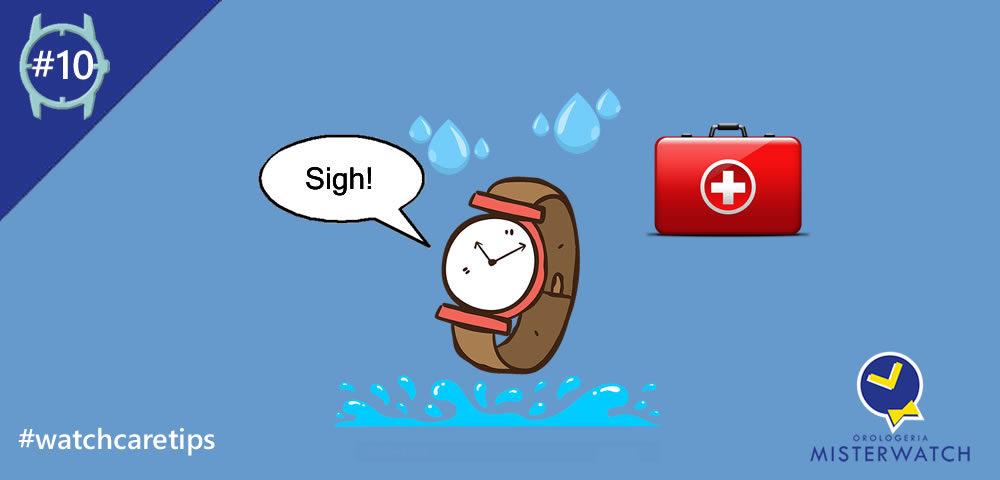Infiltrazioni d'acqua nell'orologio? Ecco come comportarti ...
